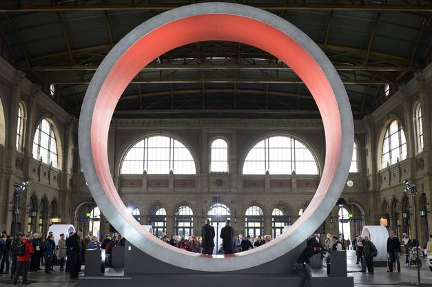 ''Gottardo 2016'' im Hauptbahnhof Zuerich