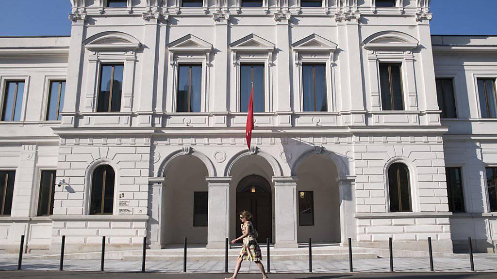 Das Bundesstrafgericht hat im 'Ndrangheta-Prozess per Video-Konferenz einen Zeugen befragt. (Archivbild)