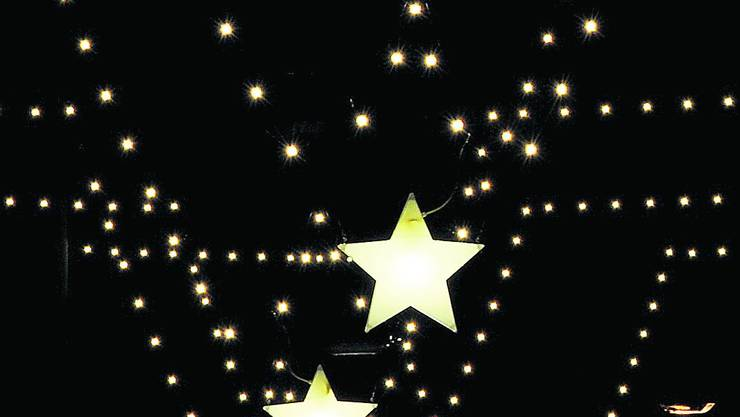 Stern Weihnachtsbeleuchtung.Jedem Dorf Sein Eigener Stern Vermischtes Panorama Aargauer