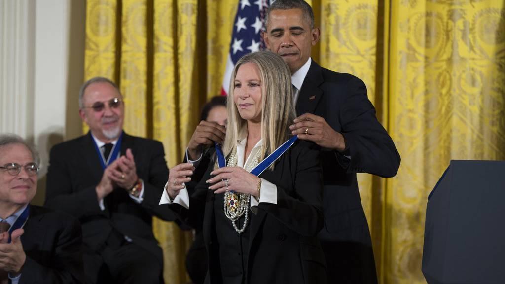 Höchste Ehren: Freiheitsmedaille für Streisand und Spielberg