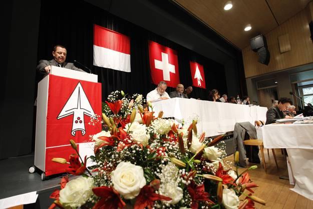 Der Solothurner Kantonsrat tagt während der Junisession im Parktheater Grenchen