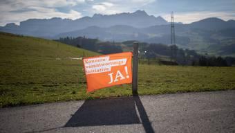 Trotz orangem Fahnenmeer im ganzen Land ist die Konzernverantwortungsinitiative gescheitert.