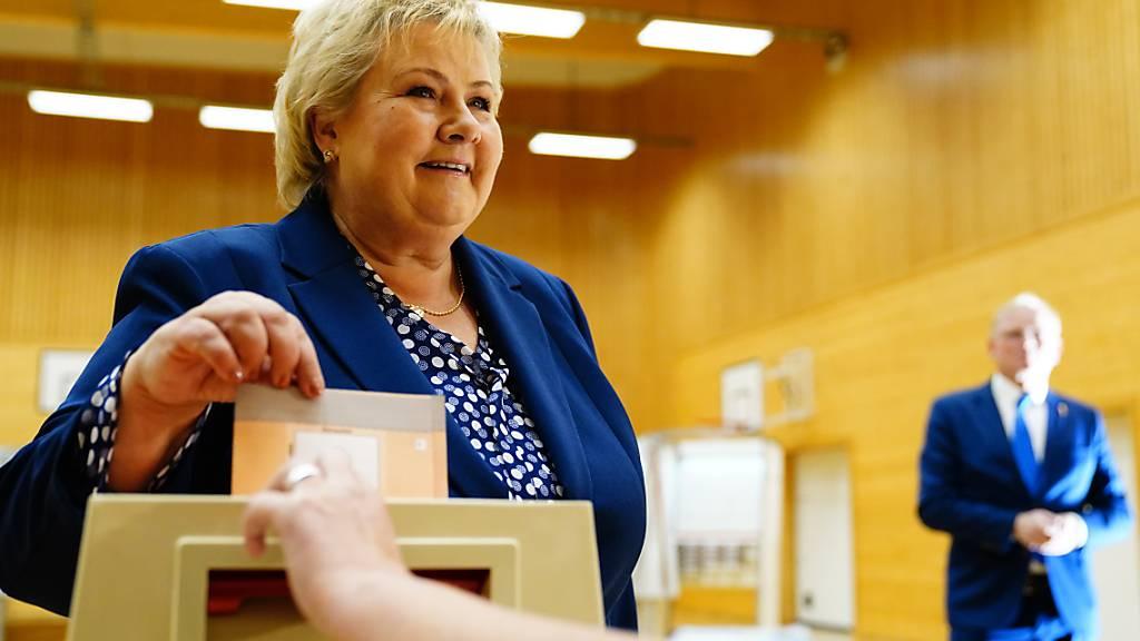 Norwegen wählt neues Parlament - Regierungswechsel wahrscheinlich