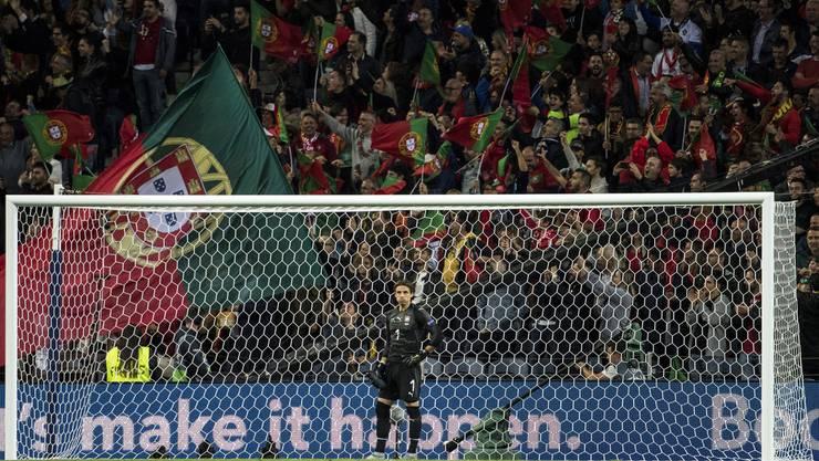Im Halbfinal endet der Weg der Schweiz in der Nations League, gegen die starken Portugiesen und einen noch stärkeren Ronaldo kassiert Yann Sommer gleich drei Tore.