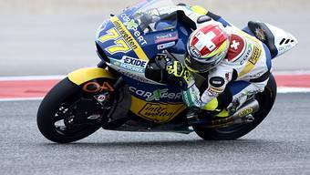 Dominique Aegerter verpasst die Podestplätze im Moto2-GP in Austin nur knapp