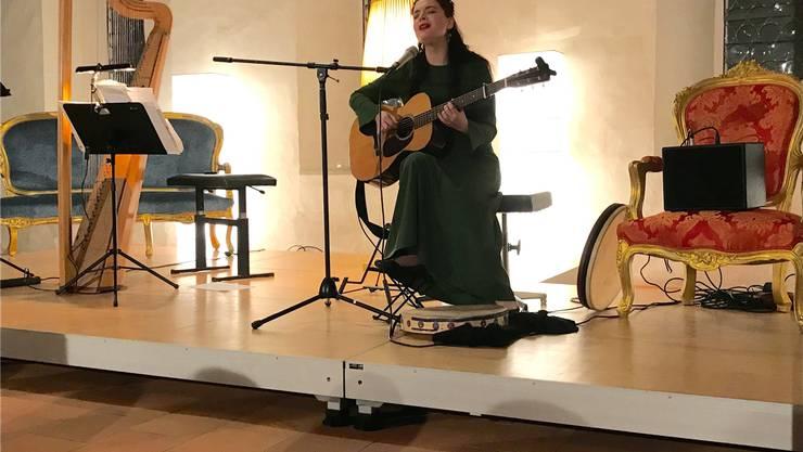 «Jazz meets Monteverdi»: Sopranistin María Christina Kiehrund Elena Duni (im Bild).