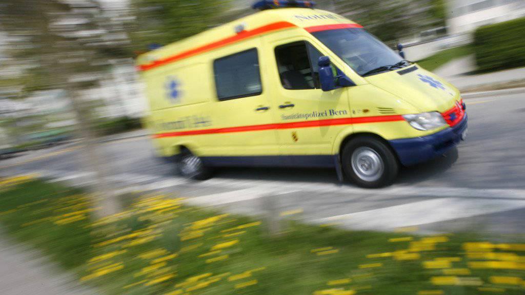 Ein Todesfall überschattet den Grand-Prix von Bern. Am Volkslauf am Samstag ist ein 41-jähriger Zürcher kurz vor dem Zieleinlauf zusammengebrochen. Er verstarb kurz darauf im Spital. (Symbolbild)