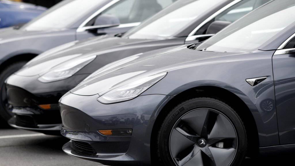 Tesla erreicht Auslieferungsrekord im zweiten Quartal. (Archiv)