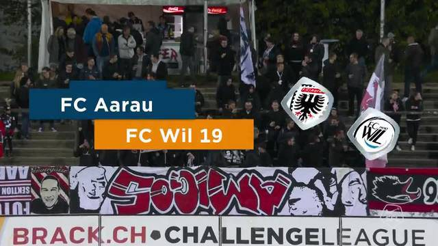 Challenge League 2018/19, Runde 12, FC Aarau - FC Wil, Highlights