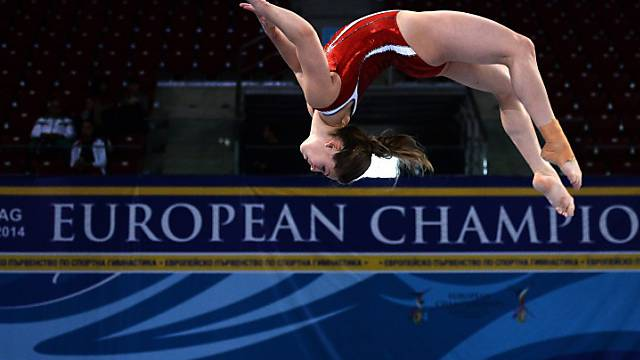 Die Schweizer Teamleaderin Giulia Steingruber