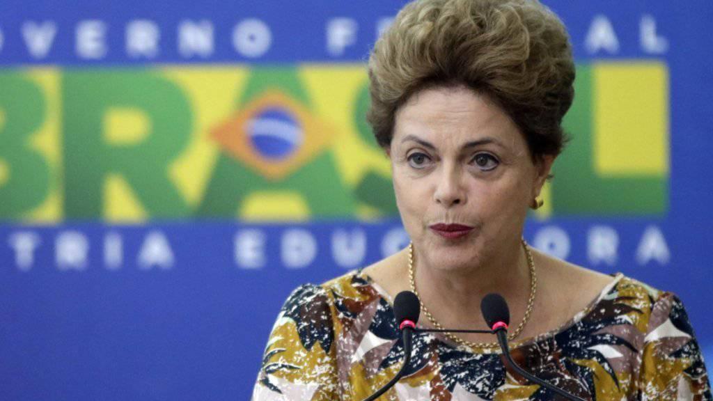 Das oberste brasilianische Gericht untersagte Spenden von Unternehmen an Parteien. An ihr liegt es nun, ob das Urteil gebilligt wird: Staatschefin Dilma Rousseff.
