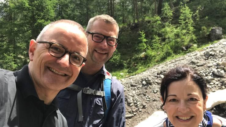Der FDP- Grossratskandidat Hanspeter Hilfiker verbringt wie jedes Jahr eine Woche in Zuoz.