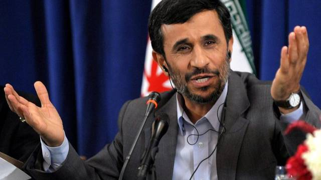 Irans Ministerpräsident Mahmud Ahmadinedschad soll sein Atomprogramm offenlegen. Dies fordern die USA (Archiv)