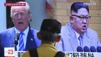 Nordkorea droht die Friedensverhandlungen mit den USA abzusagen.