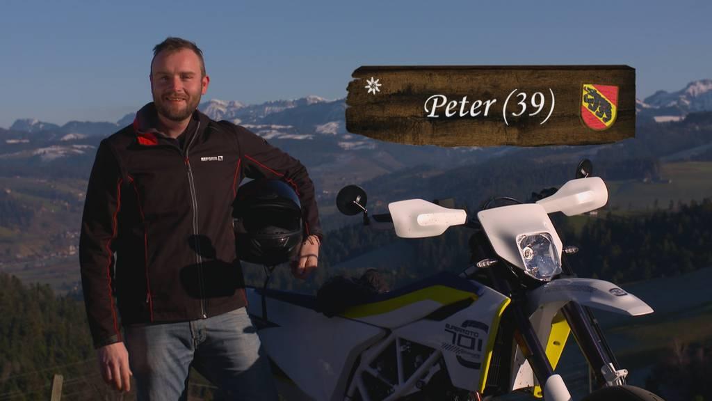 Bauer, ledig, sucht... ST16 - Portrait Peter 39 (BE)