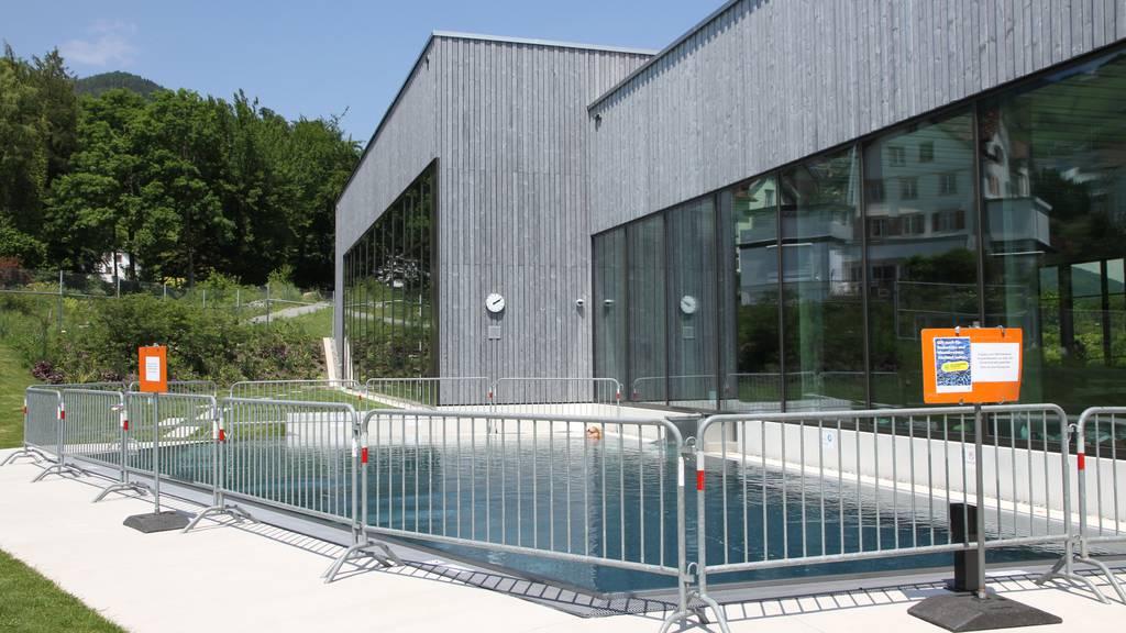 Aussenbecken zu laut: Neues Hallenbad muss Öffnungszeiten anpassen