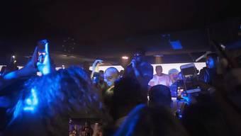 Feiern im Zürcher Club Flamingo.
