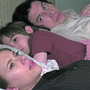 Das Bett ist nicht gross genug für drei: Szene aus «Marriage Story» mit Scarlett Johansson und Adam Driver.