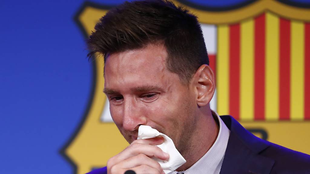 Emotionaler Abschied von Messi in Barcelona