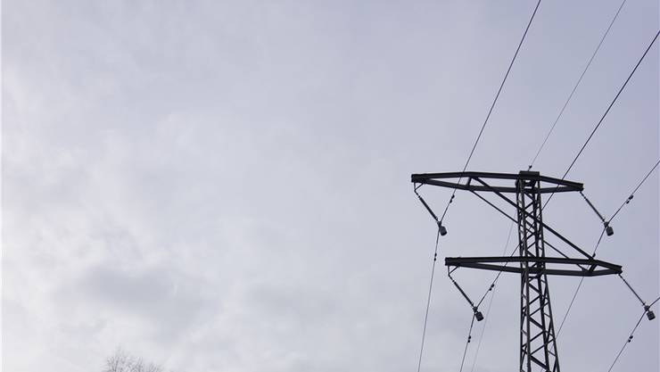 Blick auf Masten, statt Sicht auf das Oberland: Hochspannungsleitungen sind aesthetisch störend. (Archiv)