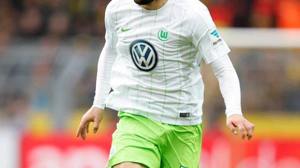 Linksverteidiger Ricardo Rodriguez steht seit Anfang 2012 beim VfL Wolfsburg unter Vertrag