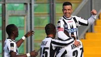 Udinese stürmt an die Spitze der Serie A