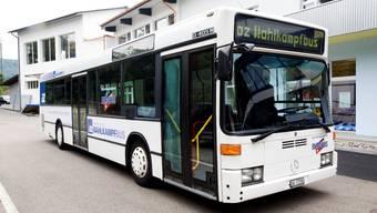 Der az-Wahlkampfbus.