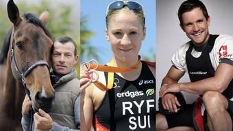 Der Solothurner Kanute Mike Kurt, die Felbrunner Triathletin Daniela Ryf und der Oensinger Springreiter Pius Schwizer werden den Kanton Solothurn an der Olympiade 2012 in London vertreten.