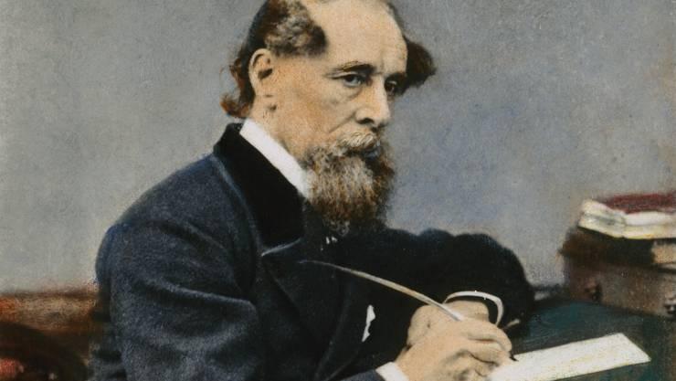 Schriftsteller Charles Dickens lebte von 1818 bis 1883 – seinen Verehrer Karl Marx traf er aber nie.
