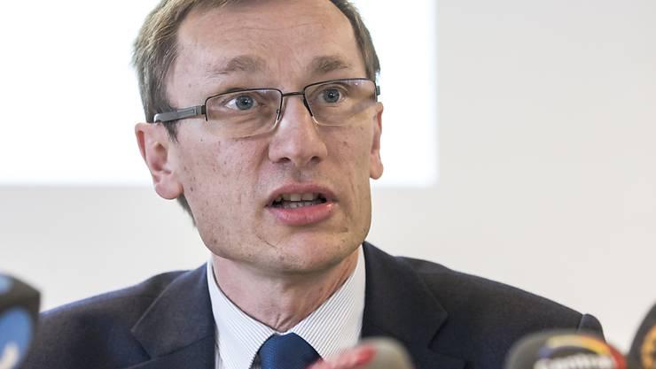 Adi Achermann, Kommandant der Luzerner Polizei, darf vorläufig keine heiklen Einsätze mehr leiten. (Archivbild)