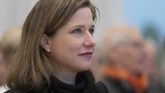 """Nationalratspräsidentin Christa Markwalder: """"Wenn die Bilateralen wegfallen, muss ein EU-Beitritt diskutiert werden."""" (Archivbild)"""