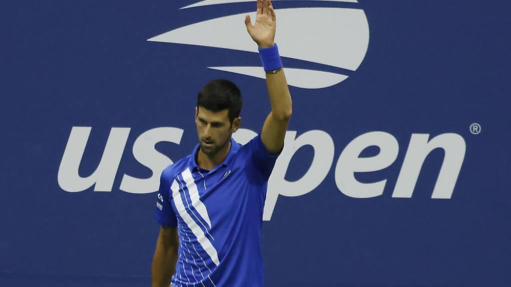 Für Novak Djokovic läuft es in Flushing Meadows weiter gut