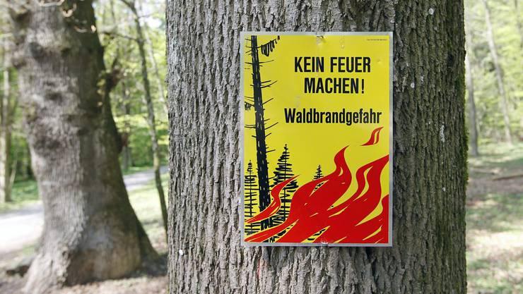 Das Feuerverbot wurde im Kanton Baselland heruntergestuft.