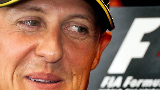 Trainingsbestzeit ohne grosse Aussagekraft: Michael Schumacher