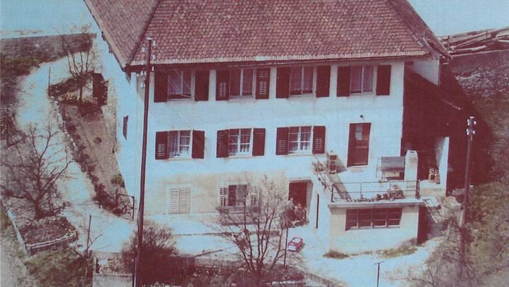 Dieses Haus an der Domherrenstrasse diente von 1814 bis 1906 als Schulhaus.