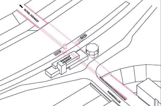 Variante 5: Die Basisvariante scheint dem Stadtrat am geeignetsten.