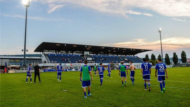 Das Stadion Niedermatten in Wohlen bleibt profifussballfreie Zone.Freshfocus