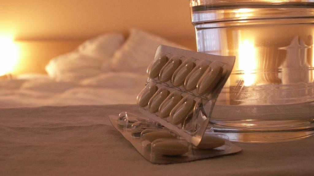 Swiss Medical Board warnt vor zu hohem Schlafmittelkonsum