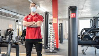 Claudio Vinchi ist Fitnesstrainer im Basefit Lenzburg.