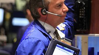 Broker an der New Yorker Stock Exchange