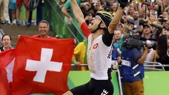 Gewann im August in Rio de Janeiro Olympiagold im Cross-Country-Rennen: Nino Schurter