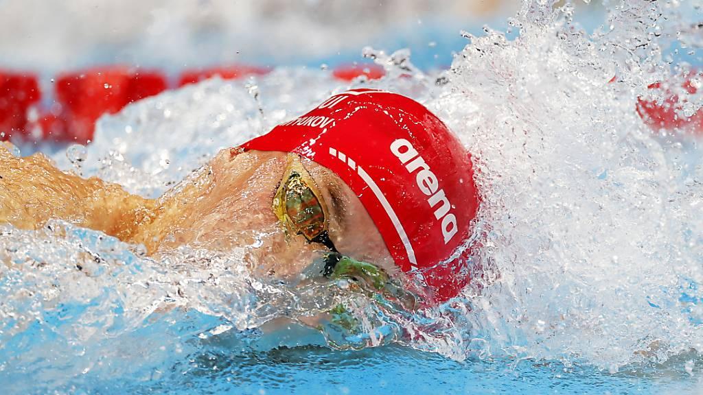 Schweizer Crawl-Staffel im Olympiafinal