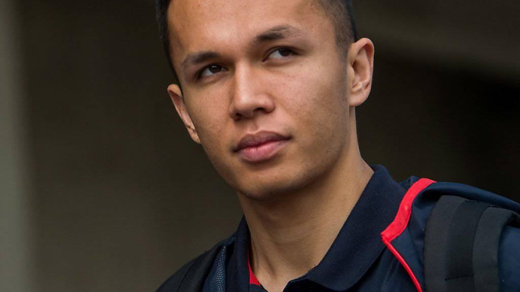 Albon für Gasly im Formel-1-Team Red Bull