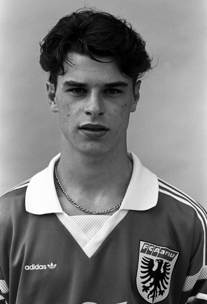 Da war er noch jung: Ciriaco Sforza im Dress des FC Aarau.