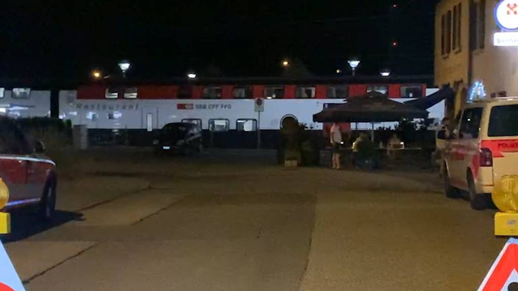 Däniken (SO): Zug wegen Bedrohung evakuiert