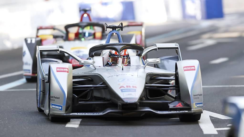 Wie am Freitag bester Schweizer: Der Genfer Edoardo Mortara fuhr in seinem Venturi im zweiten Saisonrennen auf den 5. Platz.