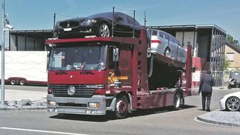 Im Mai 2011 transportierte Fidis Finance den gesamten Fahrzeugpark der SAR Premium Cars in Dintikon ab.