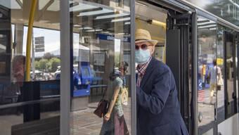 Ab Montag ist die Maske für alle ÖV-Passagiere obligatorisch.