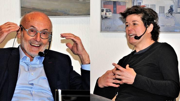 Josef Hochstrasser und Marisa Brunner