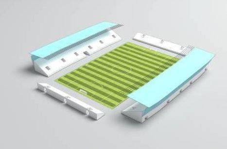 Aus dem Projektmaterial des Stadion- und Messebauers Nüssli zeigt sich: Auf dem Hardturm kann ein Stadion unterschiedlich aussehen.